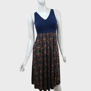 Gillian & O'Malley floral spaghetti strap dress